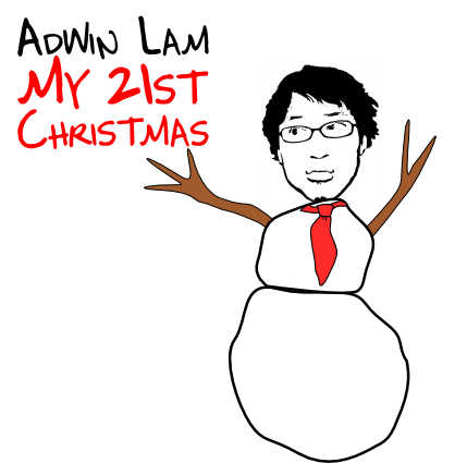 My 21st Christmas cover